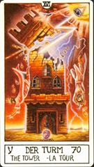 The Tower - Eclectic Tarot