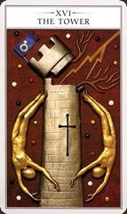 The Tower - Renaissance Tarot