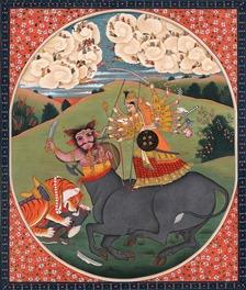 Durga Slays Mahishasura 2