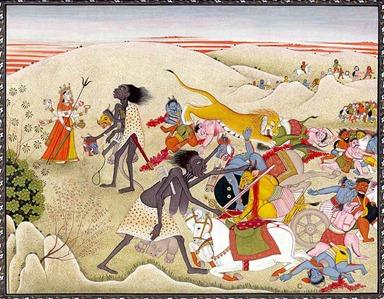 Kali Kills Chanda and Munda