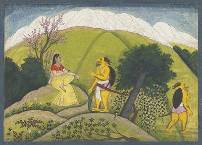 Sending Sumbha's Messenger Away