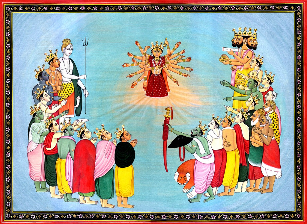 Il paradosso dell'onnipotenza. The-birth-of-durga