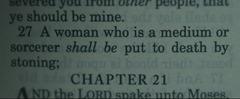 Leviticus 20 27