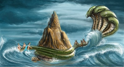 Churning of the Ocean