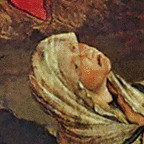 Crucifixion-Magdalene-Face