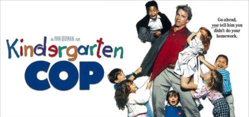 Kindergarten-Cop-Poster